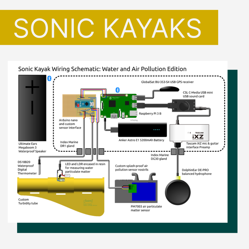 Sonic kayak wiring schematic: water and air pollution edition.